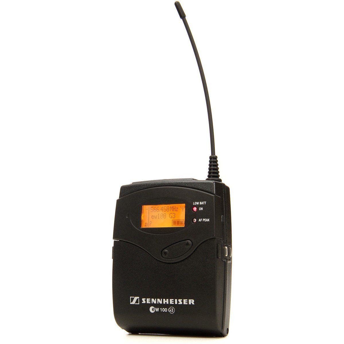Sennheiser EW112p-G3 Microfone sem fio Sennheiser EW112pg3 para Câmeras