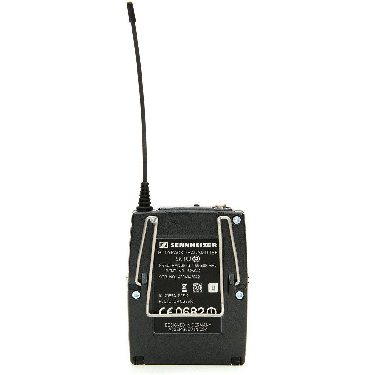 Sennheiser EW 152-G3 Microfone Sem fio Sennheiser EW152-G3 para Teatros