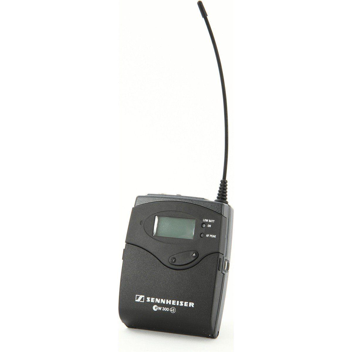 Sennheiser EW 312 G3 Microfone de Lapela Sennheiser EW312-G3 para Eventos e Palestras