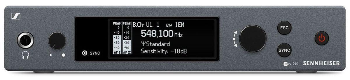 Sennheiser EW IEM G4 Sistema para Monitoramento EW-IEM-G4 Single