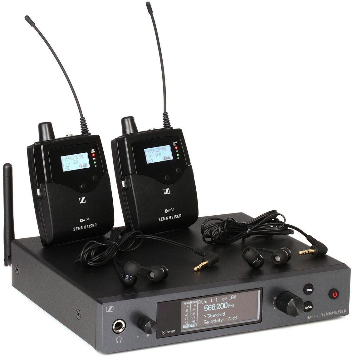 Sennheiser EW IEM G4-Twin Sistema para Monitoramento EW IEM G4-TWIN Dual