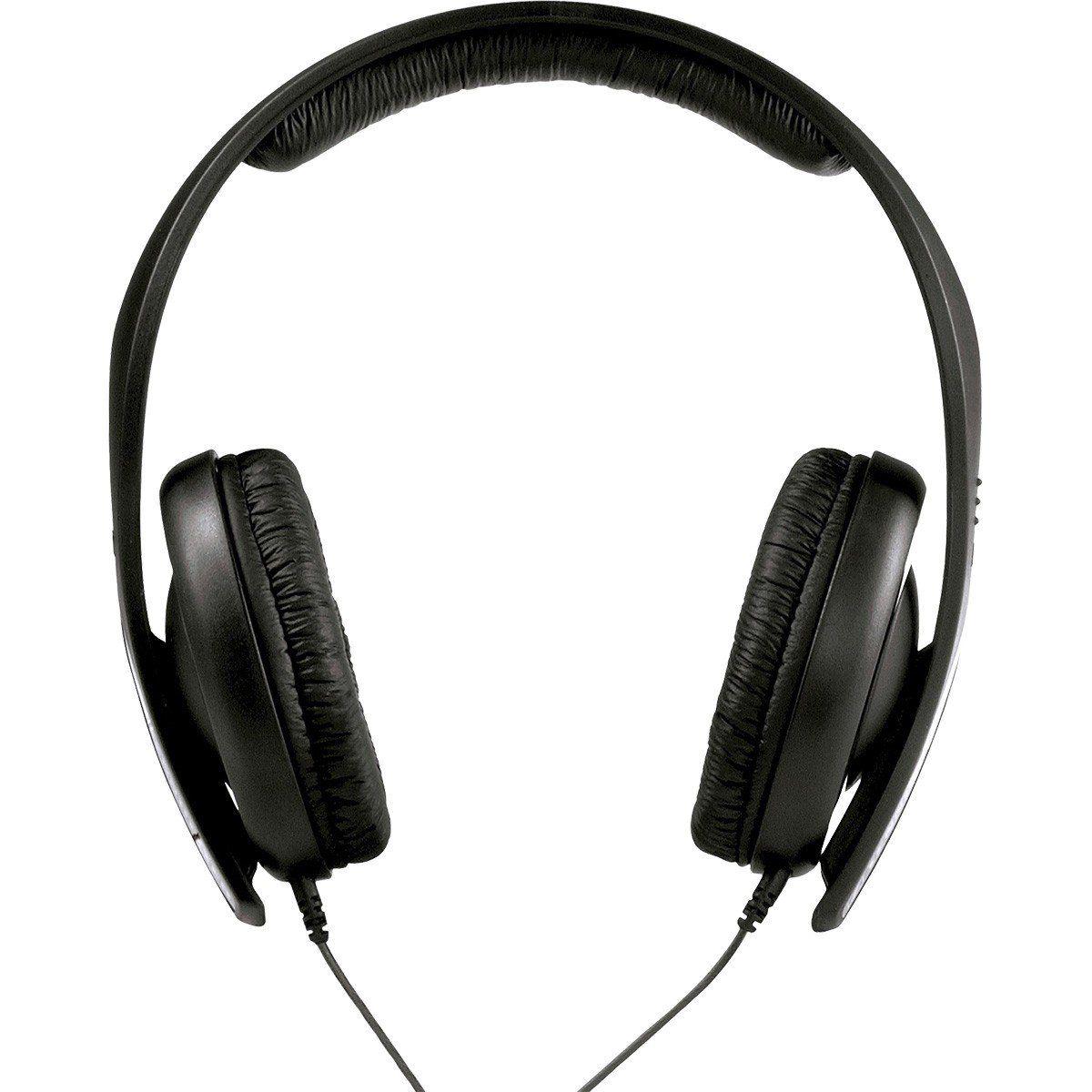 Sennheiser HD202-II Fone de Ouvido HD-202 II Fechado para Dj Profissional e Produção