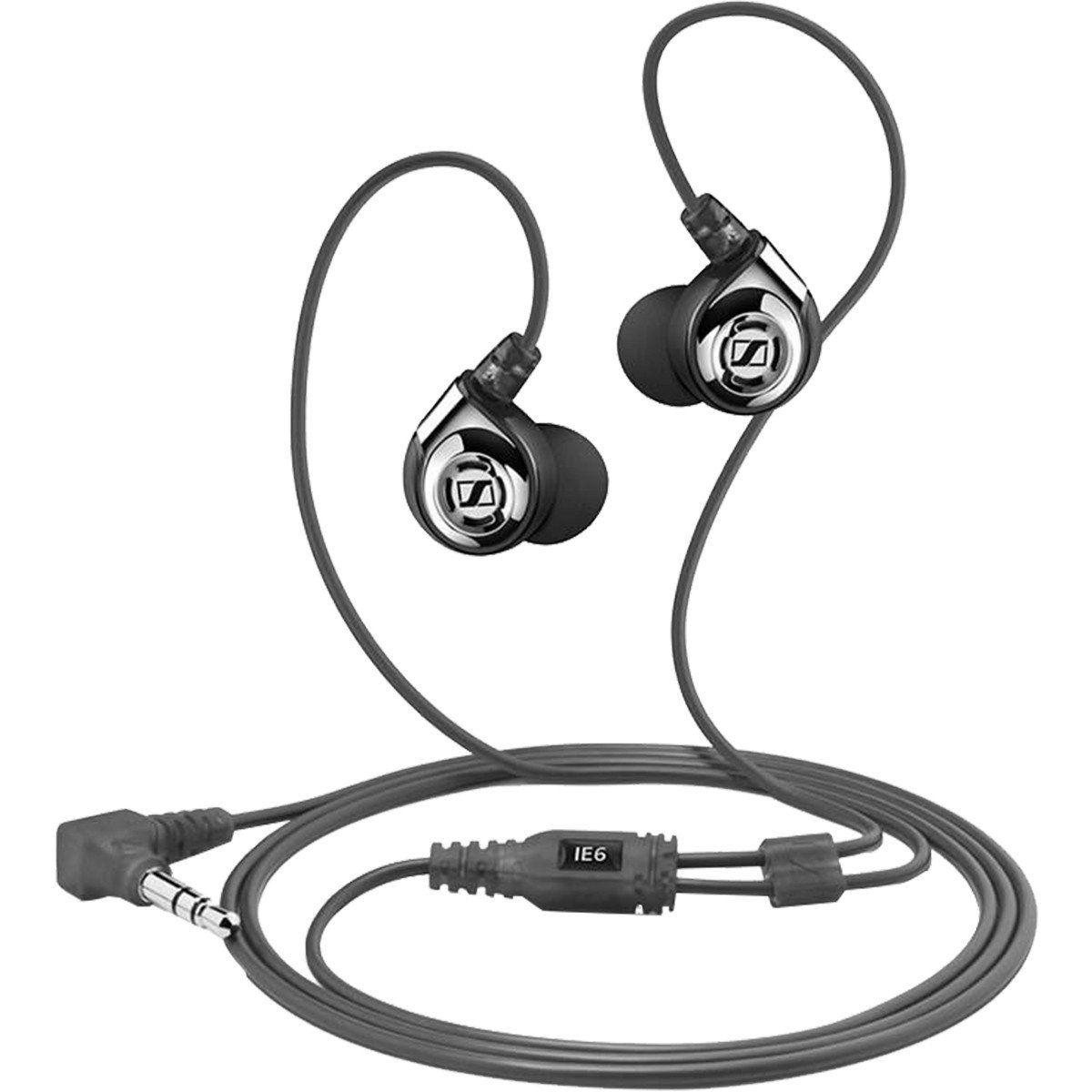Sennheiser IE6 Fone de Ouvido IE-6 In-Ear para Retorno e Monitoramento