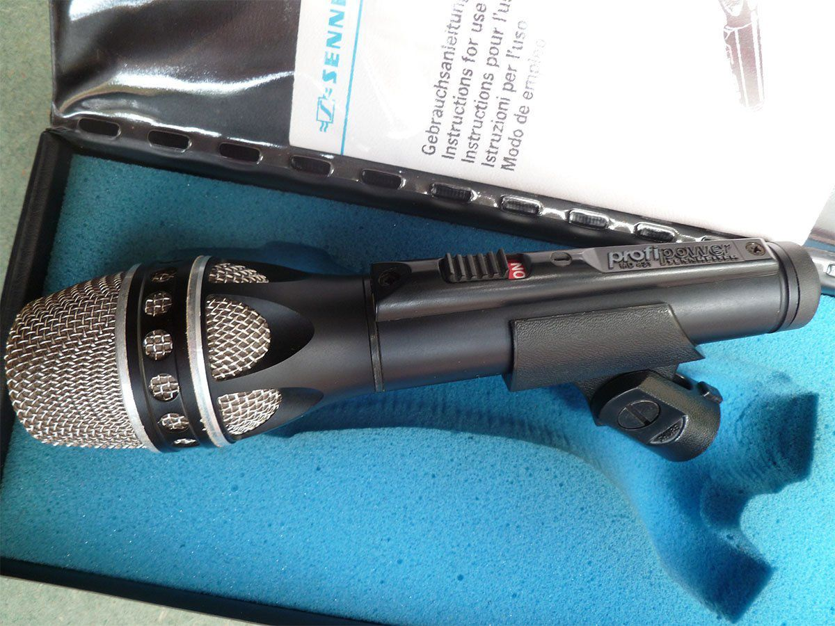 Sennheiser MD 431 Microfone Contra Ruido MD-431 Microfone para gravação de voz