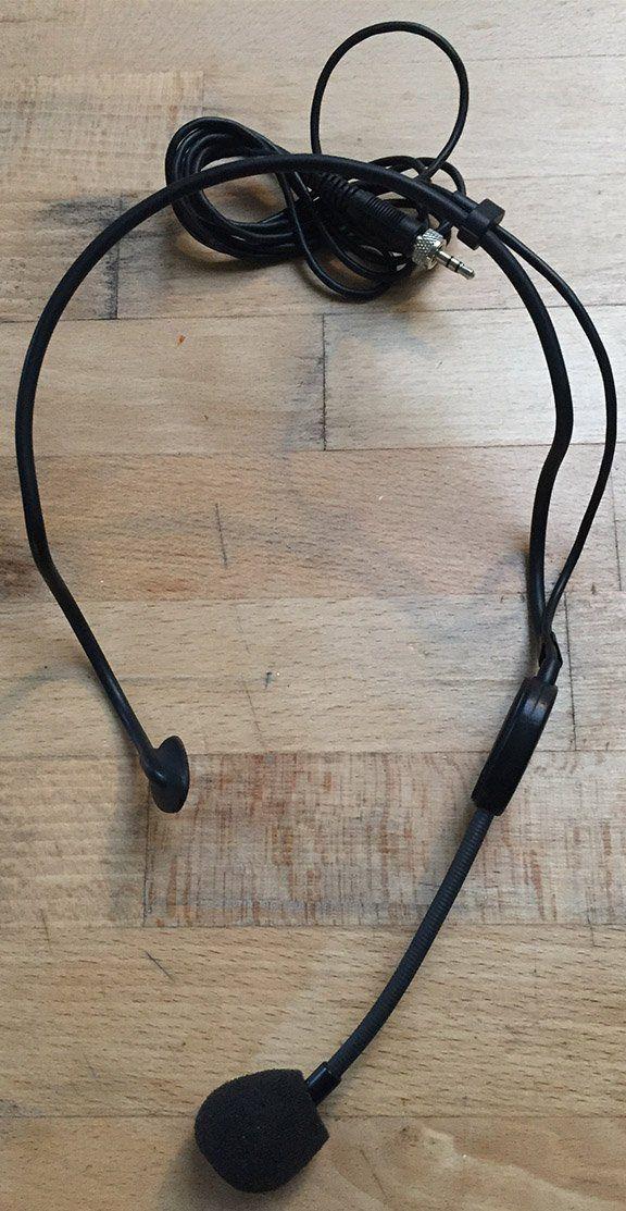 Sennheiser ME3 microfone headset cardioide condensador Sennheiser ME 3 para Shows