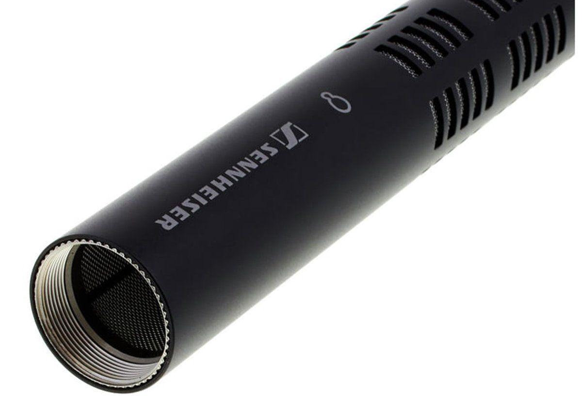 Sennheiser ME66/K6 Microfone Shotgun Sennheiser ME66 K6 para Video