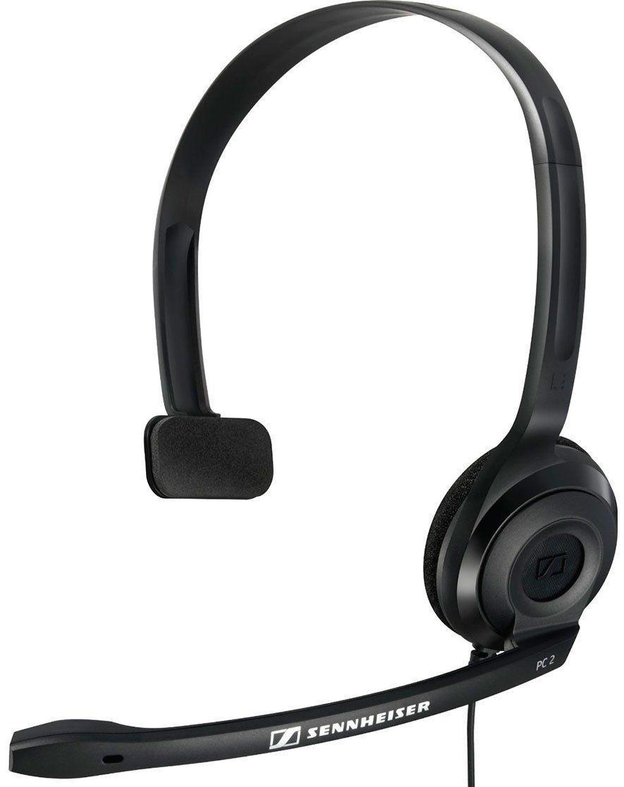 Sennheiser PC 2 Chat fone de ouvido com microfone Sennheiser PC2 Chat