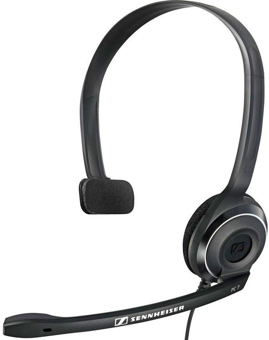 Sennheiser PC 7 Usb fone de ouvido com microfone Sennheiser PC7Usb