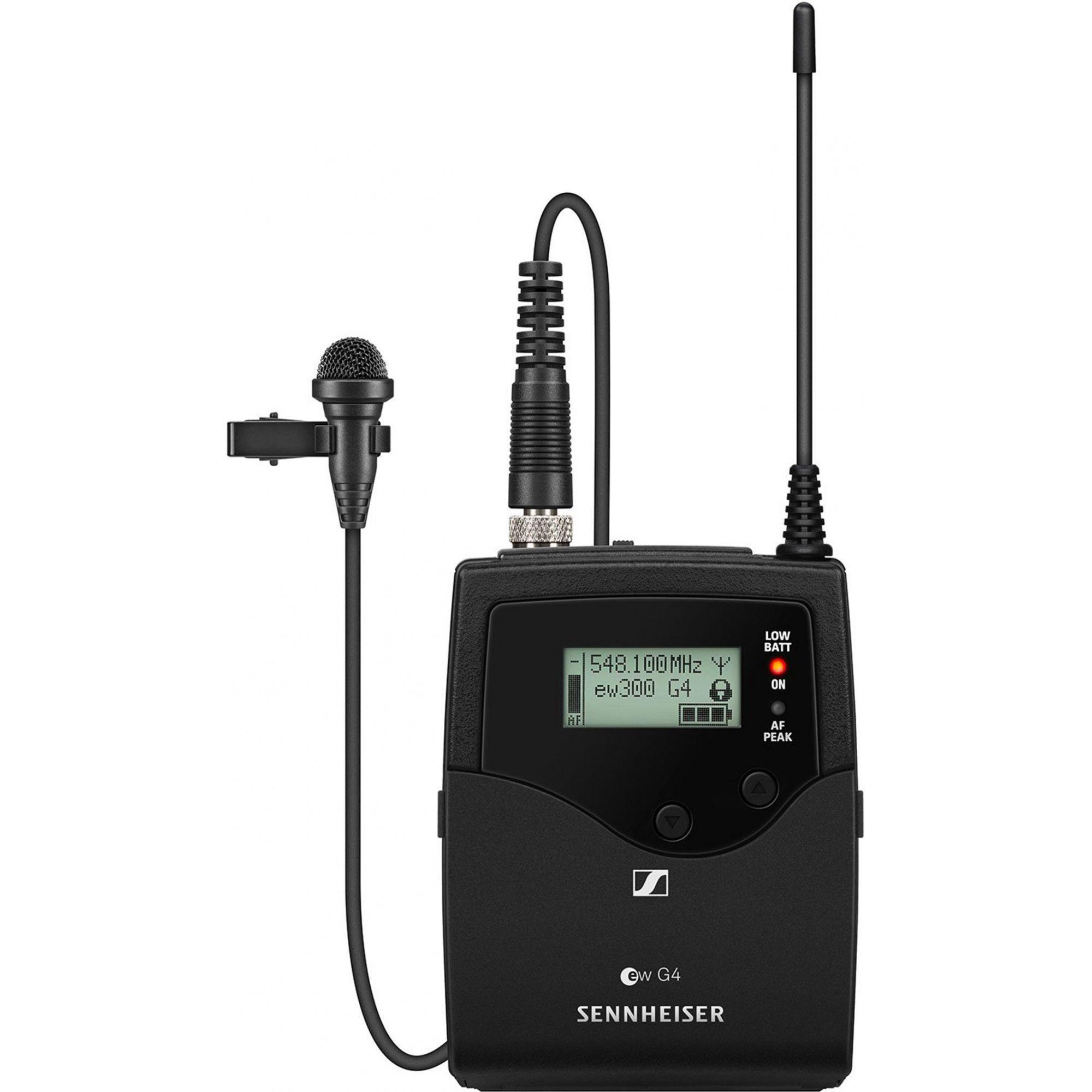 Sennheiser SK 300 G4-RC Transmissor sem fio para microfones SK 300 G4 RC