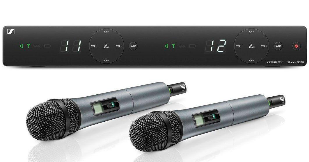 Sennheiser XSW 1-825 Dual / XSW 1-835 Dual Sistema com dois microfones sem fio
