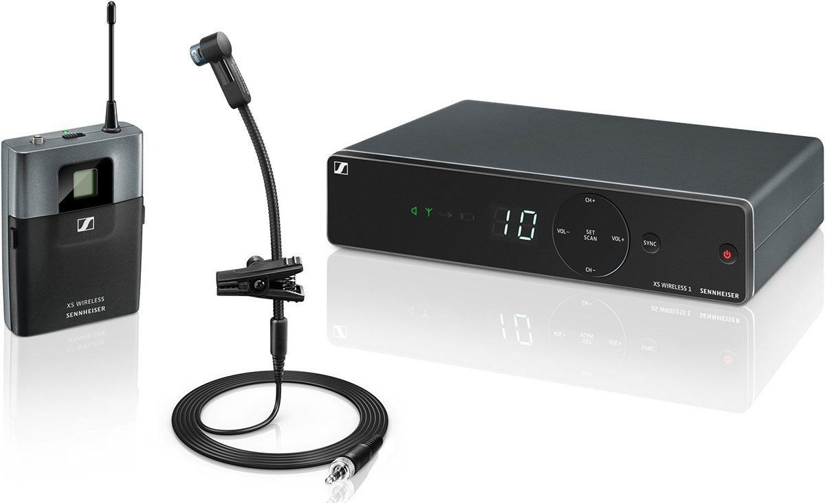 Sennheiser XSW 1-908 Microfone XSW 1 908 pra instrumentos de sopro