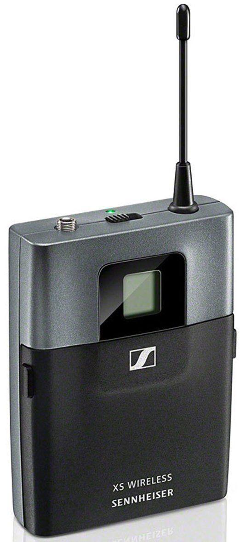Sennheiser XSW 1-ME2 microfone de lapela XSW 1 ME2 com 10 canais disponíveis