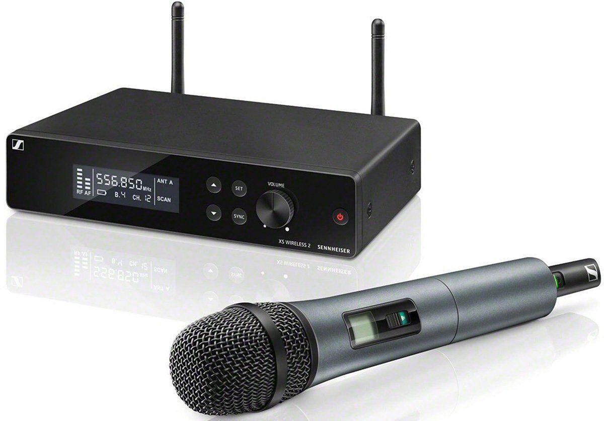 Sennheiser XSW 2-835 Microfone sem fio Sennheiser XSW 2 835 com alta resistência