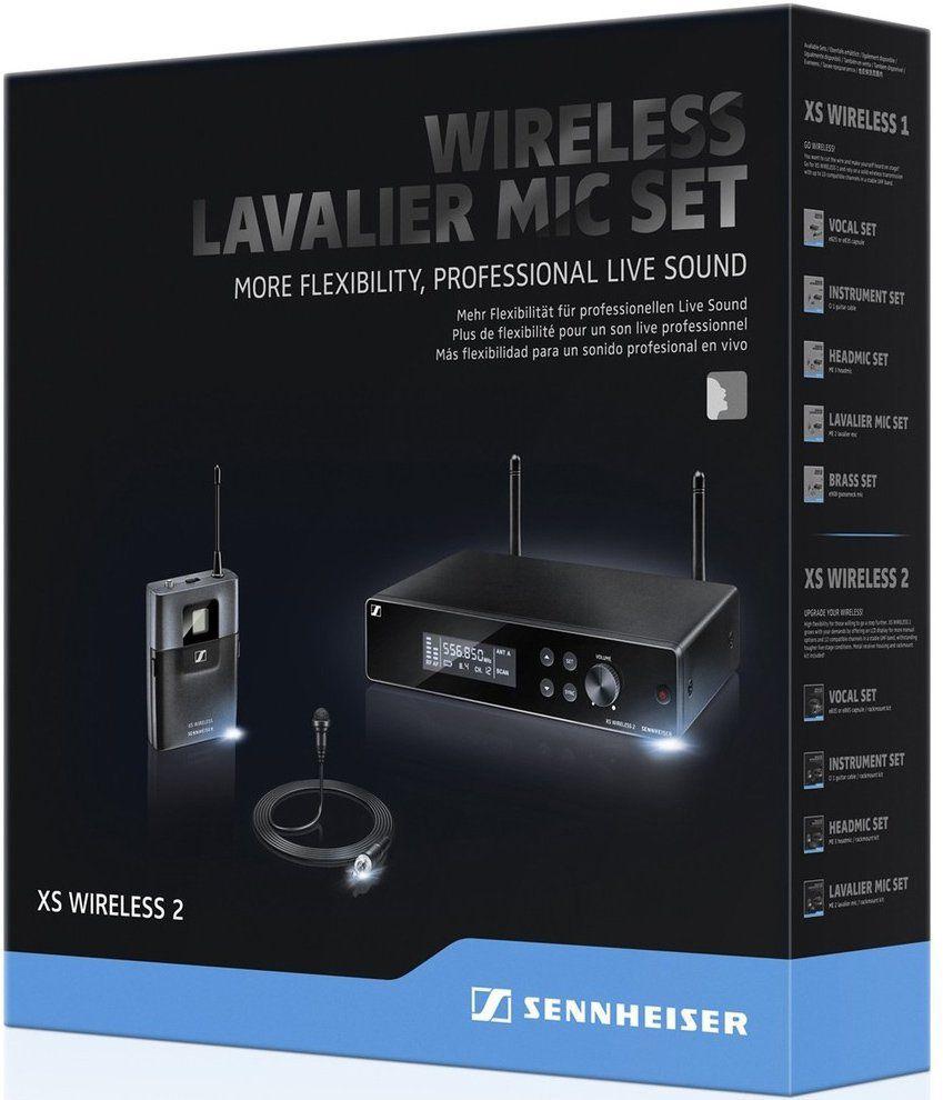 Sennheiser XSW 2-ME2 Sistema sem fio Sennheiser XSW 2ME2 para entrevistas