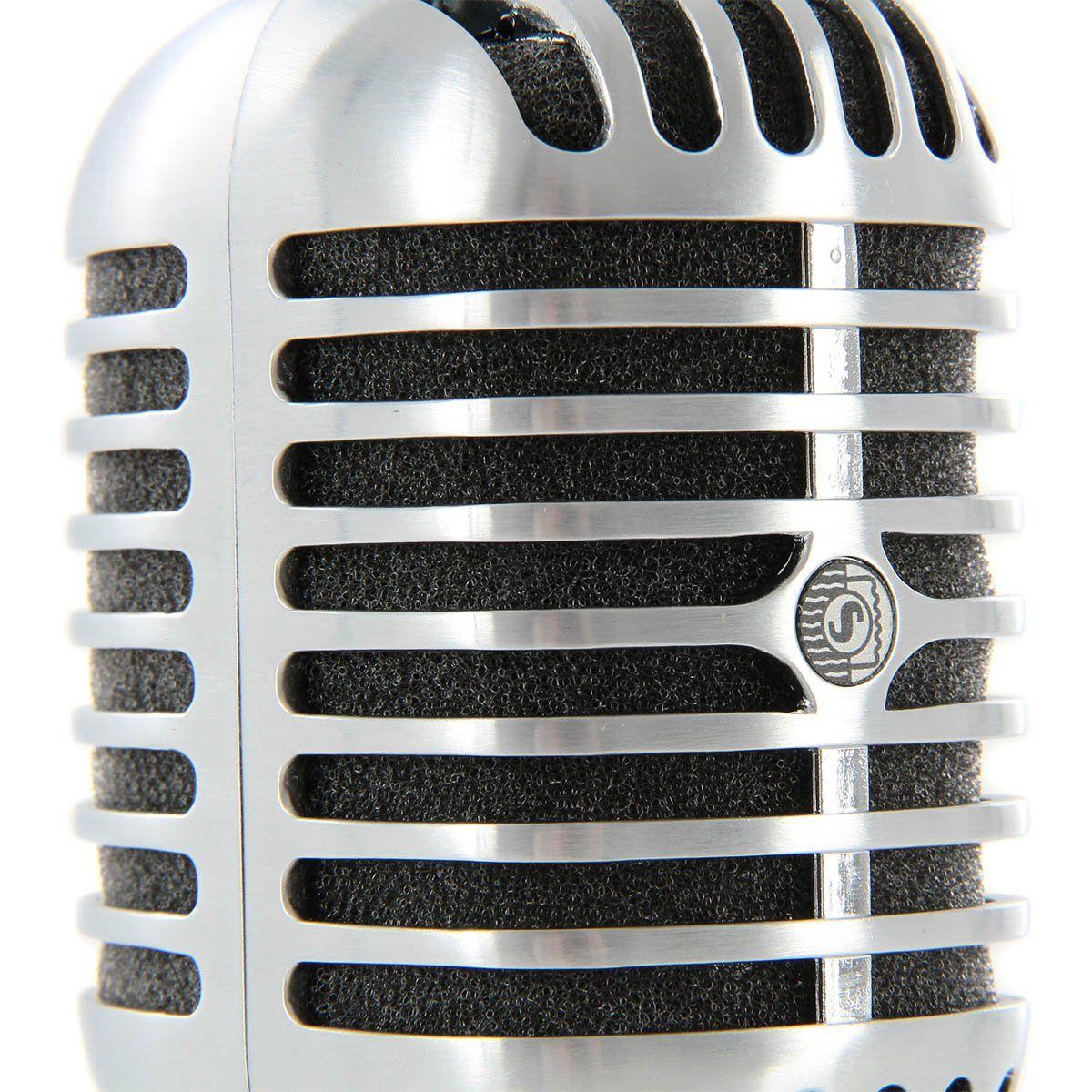 Shure 55SH II Microfone Dinâmico Cardioide Shure 55SH-II para Vocais e Palco