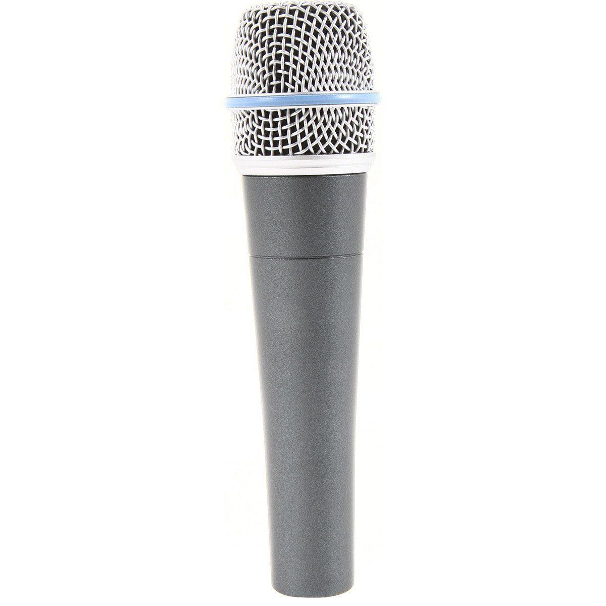 Shure Beta 57A Microfone Shure Beta 57 A para Instrumentos Acústicos e Vocais