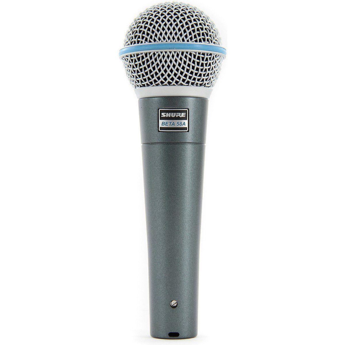 Shure Beta 58A Microfone Dinâmico Supercardióide Shure Beta 58 A para Vocais