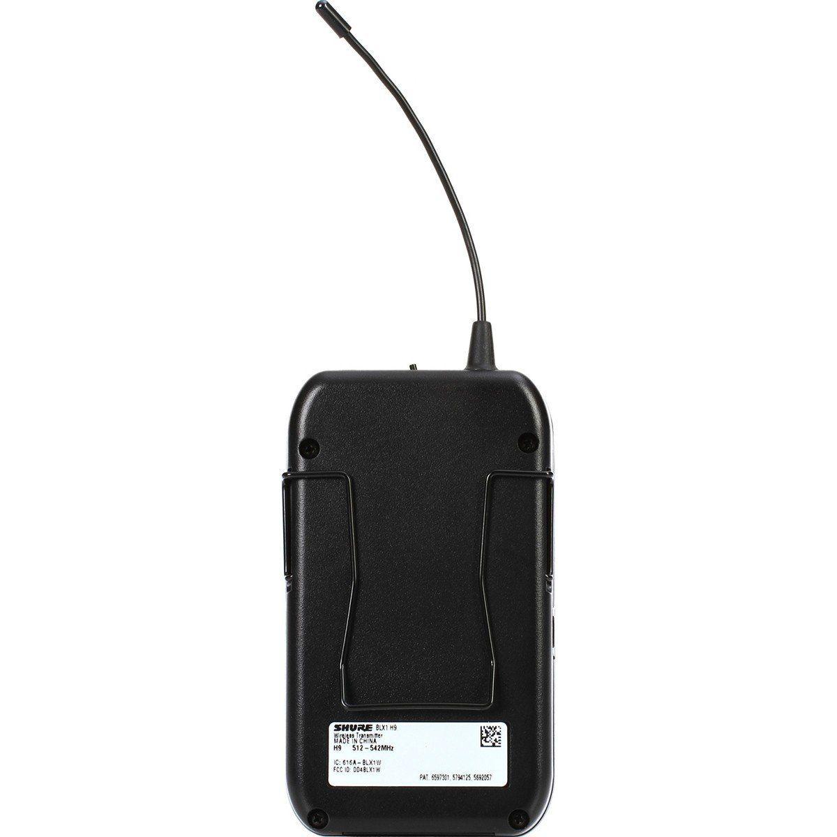 Shure BLX14/Beta98H/C Microfone Sem fio Shure BLX14-B98H/C para Instrumentos