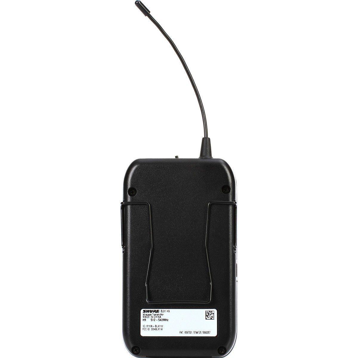 Shure BLX14/P31 Microfone Sem fio Shure-BLX14/P31 para Igrejas e Eventos