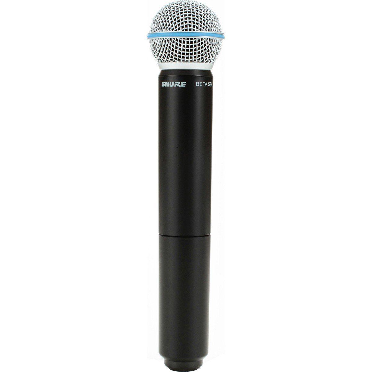 Shure BLX24/Beta58A Microfone Sem fio Shure BLX24/B58A, Palco, Apresentações