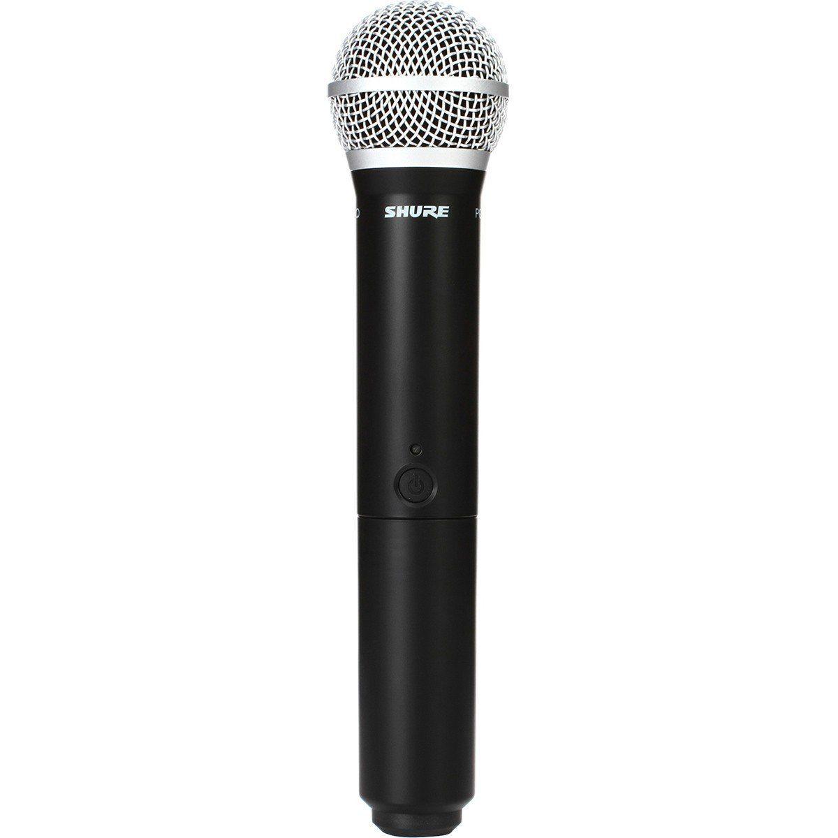 Shure BLX288/PG58 Microfone sem fio Shure BLX288-PG58 para Vocais e Performances