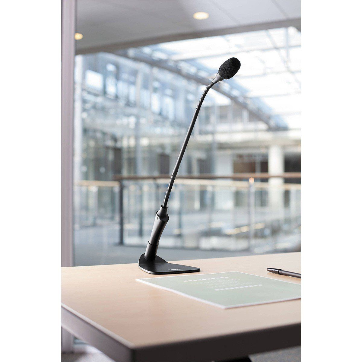 Shure CVG12B/C Microfone Condensador Gooseneck Shure CVG12BC para Discursos e Palanques