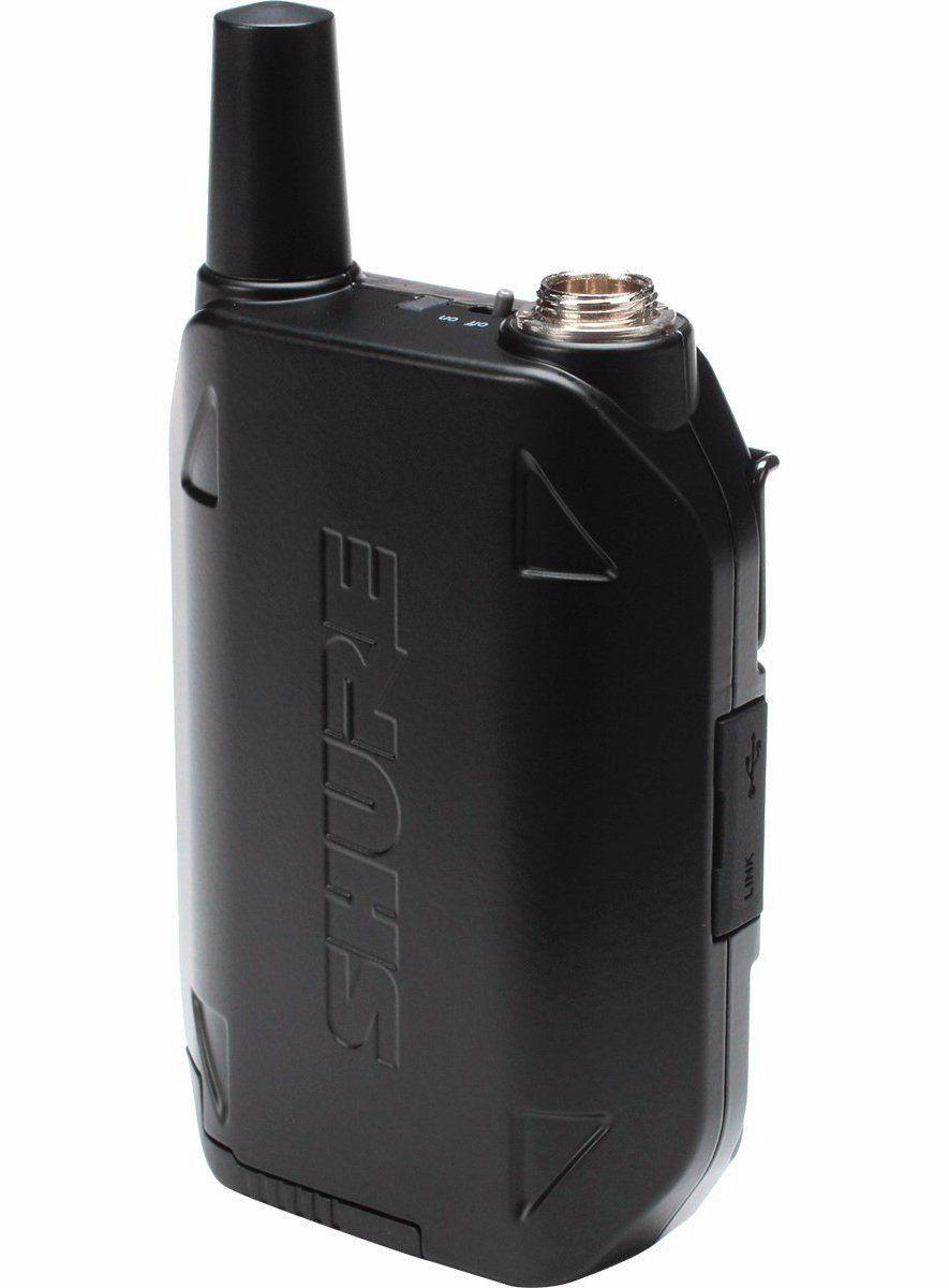 Shure GLXD14R/MX53 Microfone Headset sem Fio GLXD14R para Apresentações no Palco