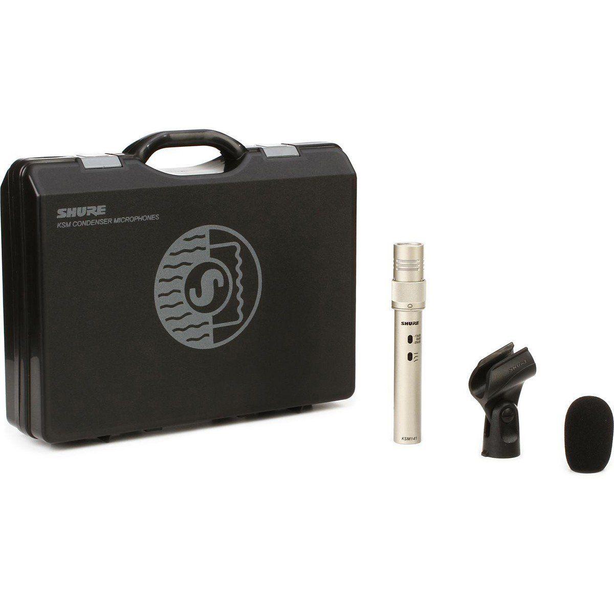Shure KSM141/SL Microfone Condensador Shure KSM141 SL para Instrumentos