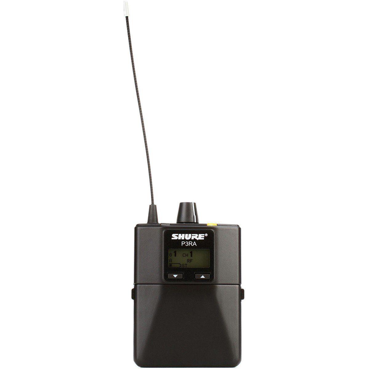 Shure P3TRA215CL PSM300 Sistema Monitoramento Sem Fio para Retorno Igrejas e Palcos