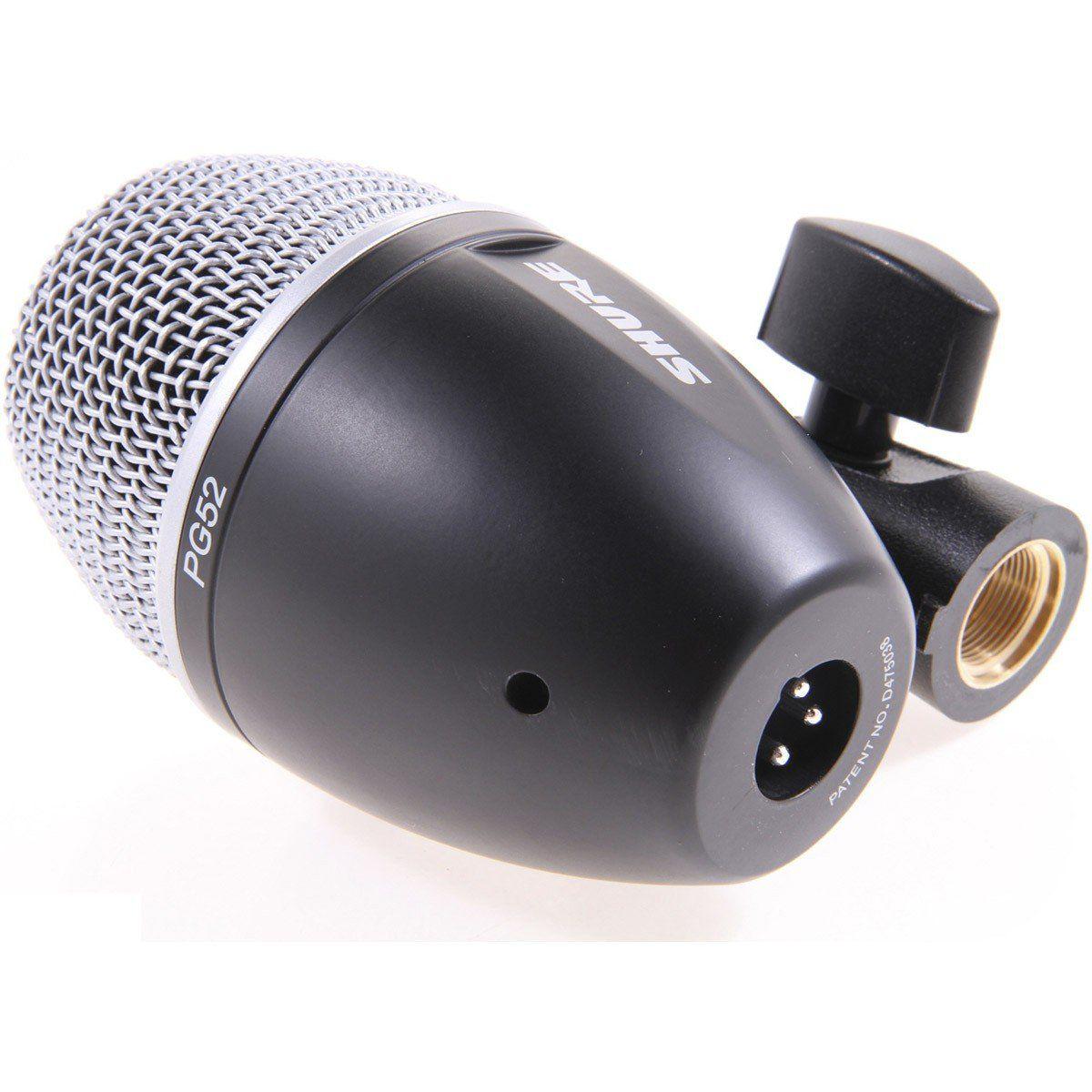 Shure PG52 Microfone Dinâmico Shure-PG52 para Instrumentos de Percussão