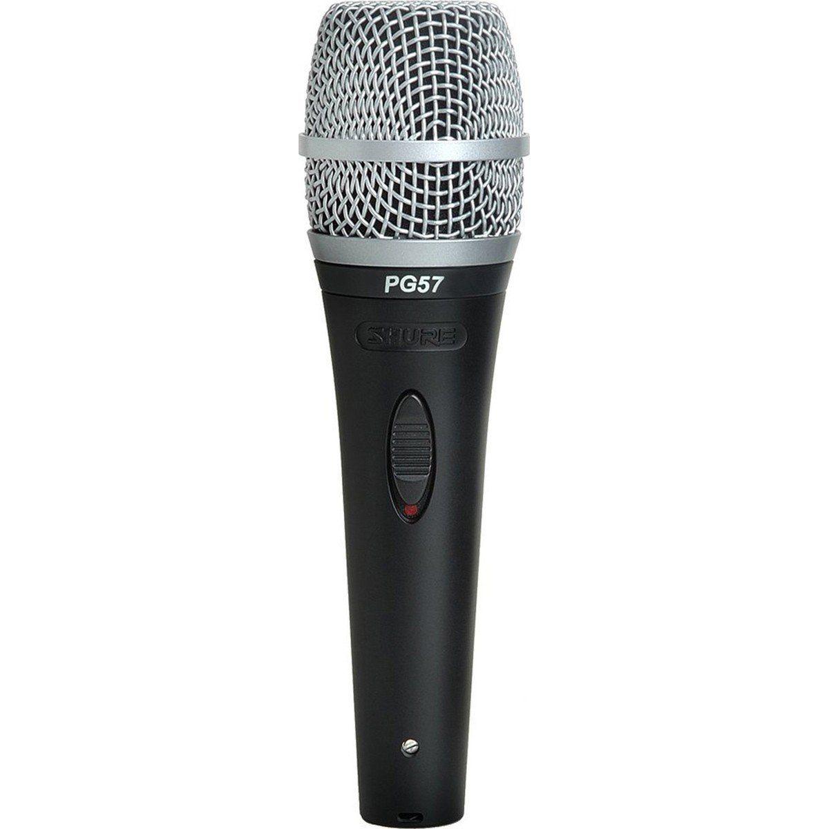 Shure PG57 Microfone Dinâmico Shure-PG57 para Guitarras e Percussão