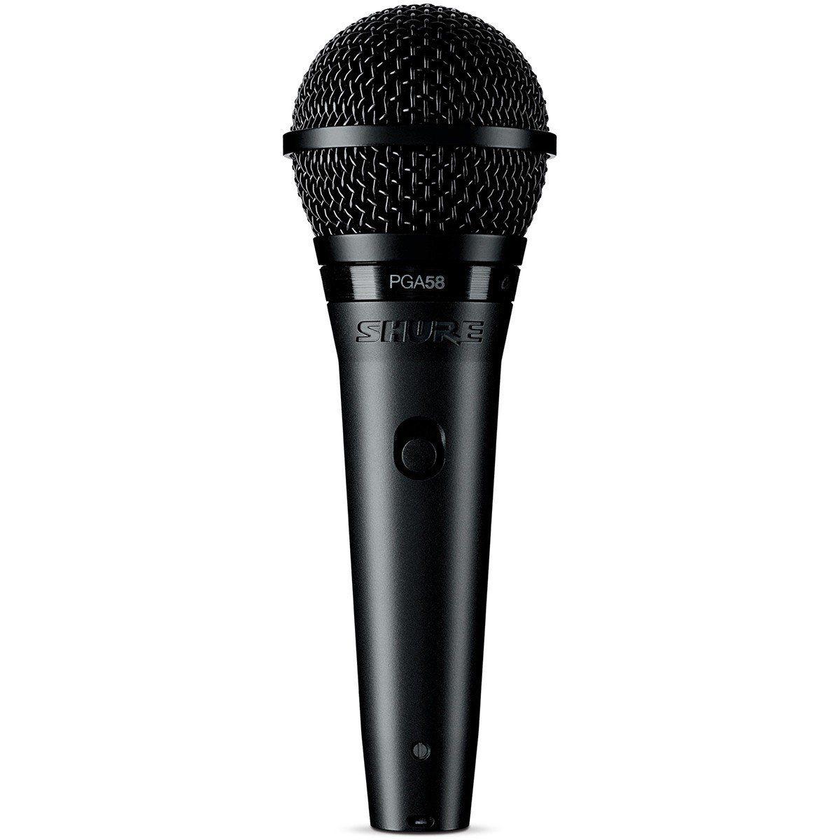 Shure PGA58 Microfone Dinâmico Cardioide Shure PGA 58 para Voz