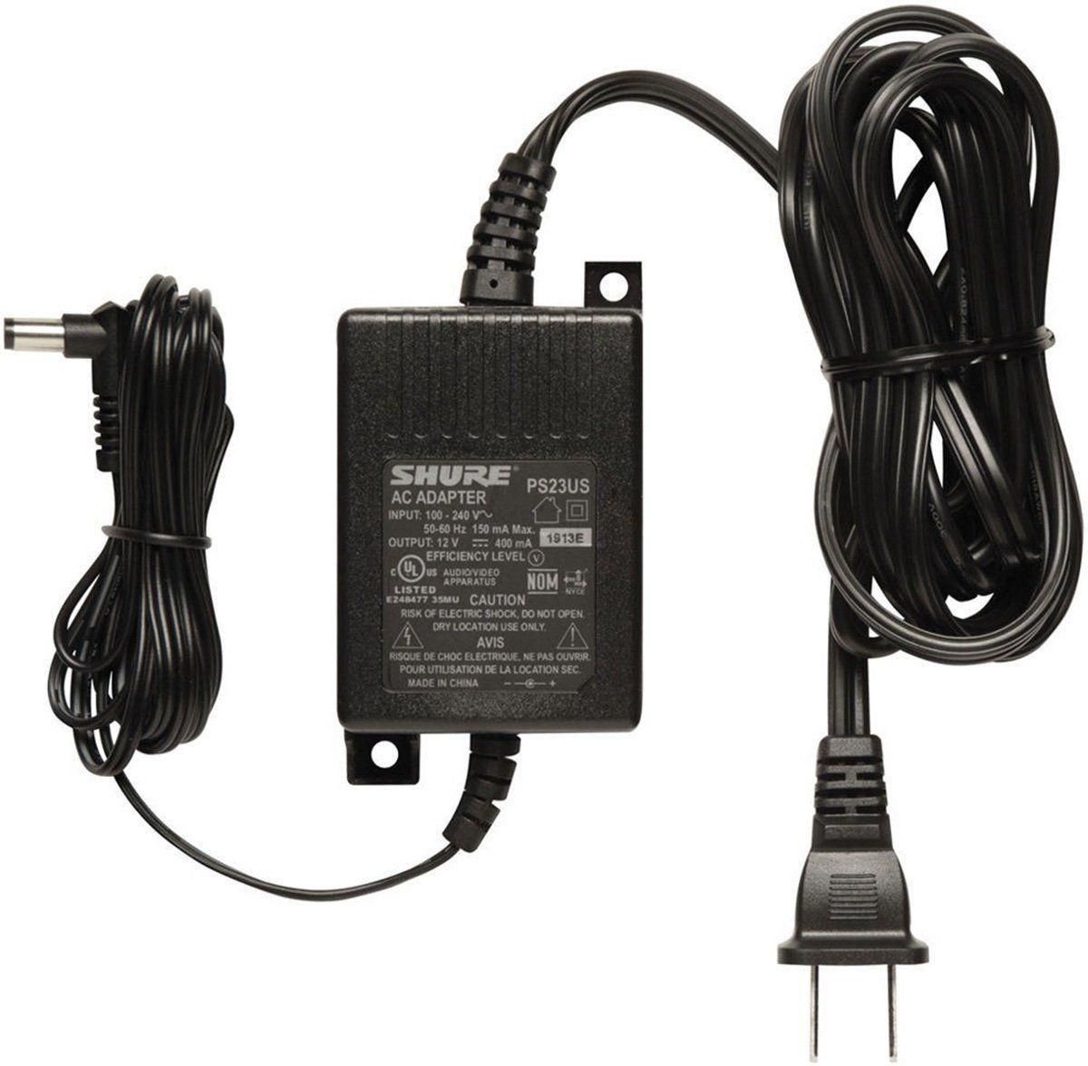 Shure PS23 US AC adaptador 110/220 PS-23US