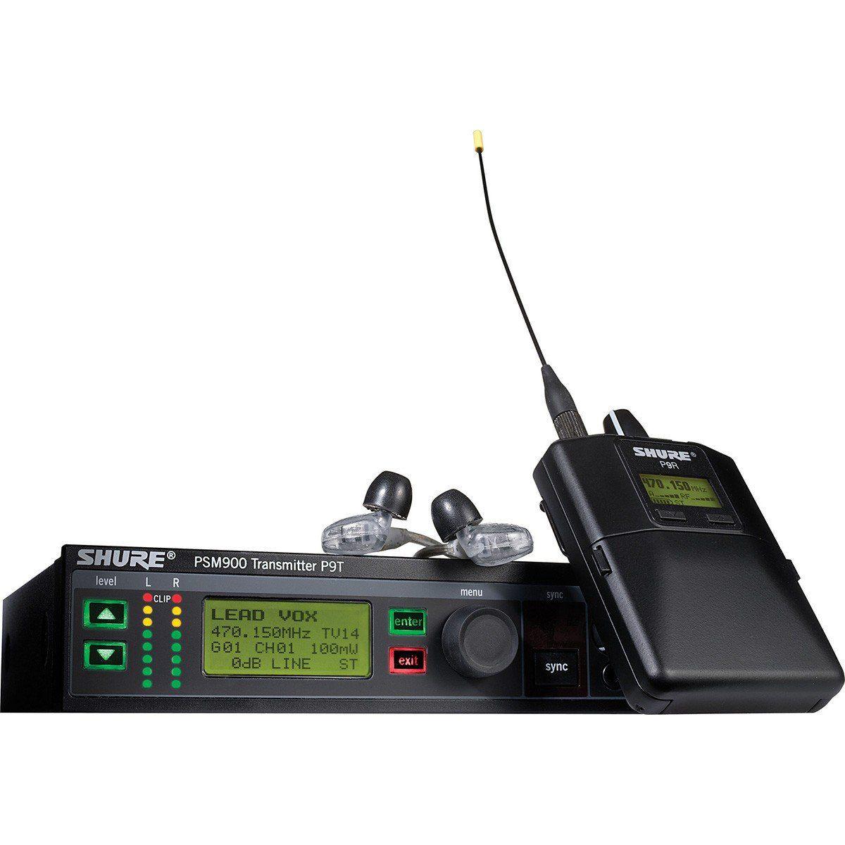 Shure PSM900 Sistema Monitoramento Sem Fio para Retorno de Performances