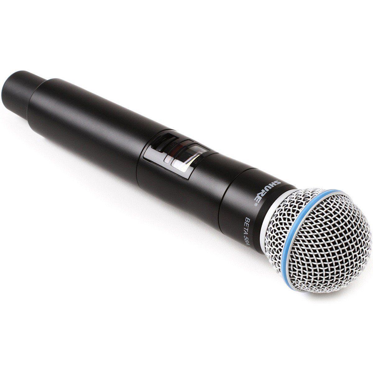 Shure QLXD24/Beta58A Microfone sem Fio Shure QLXD24 B58A, Apresentações Diversas