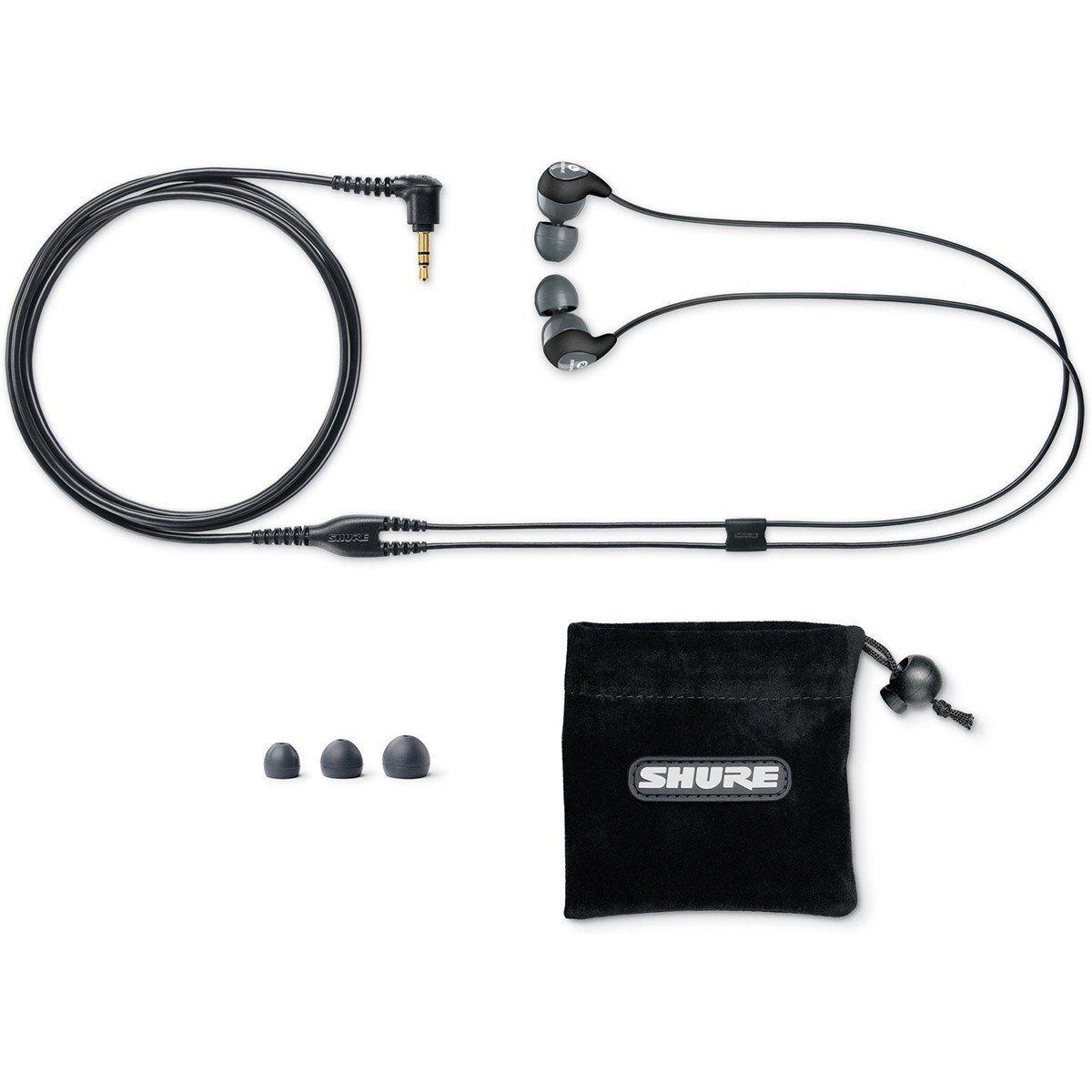 Shure SE112M GR EPS Fone de Ouvido SE112-GR-EPS In-Ear para Retorno de Palco