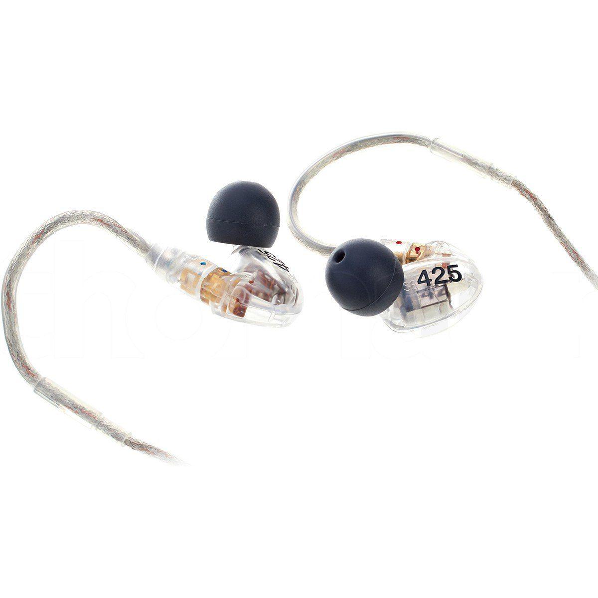Shure SE425-CL Fone de Ouvido SE-425CL In-Ear para Tablets Notebooks e Retorno