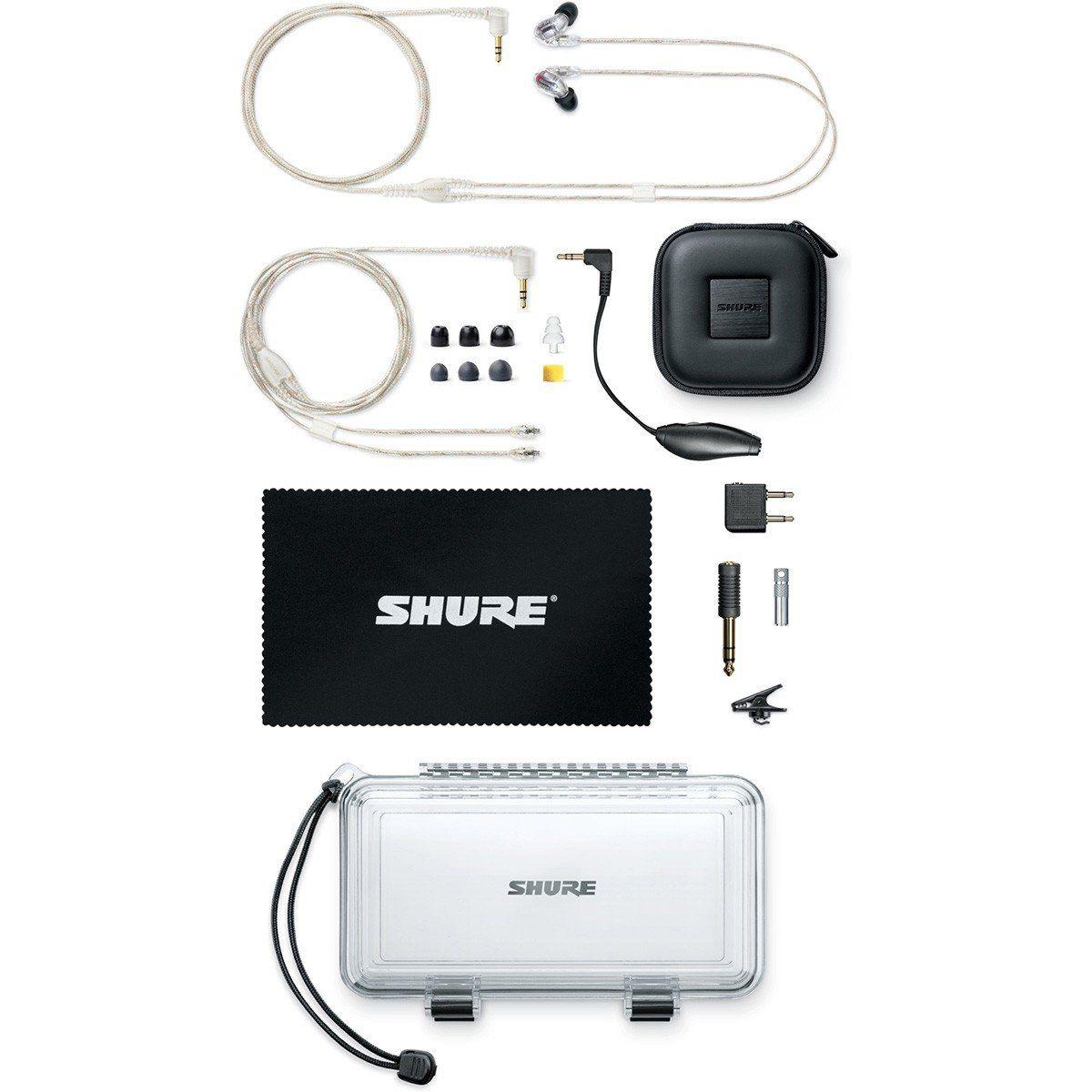Shure SE846-CL Fone de Ouvido SE-846CL para Retorno de Palco e Apresentações ao Vivo