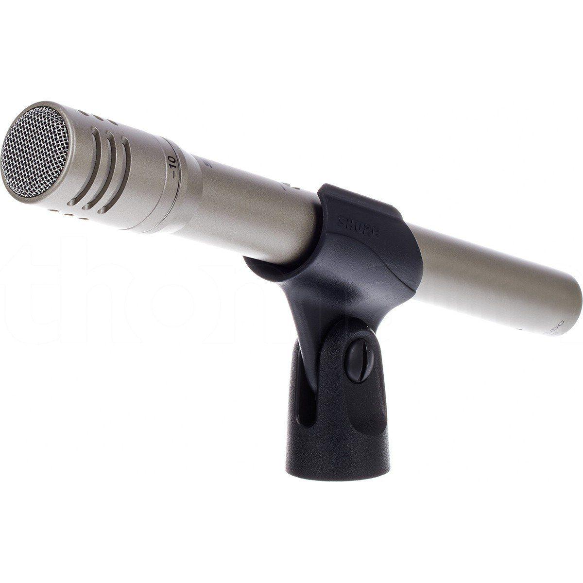 Shure SM81 LC Microfone Condensador Cardioide Shure SM81-LC para Instrumentos