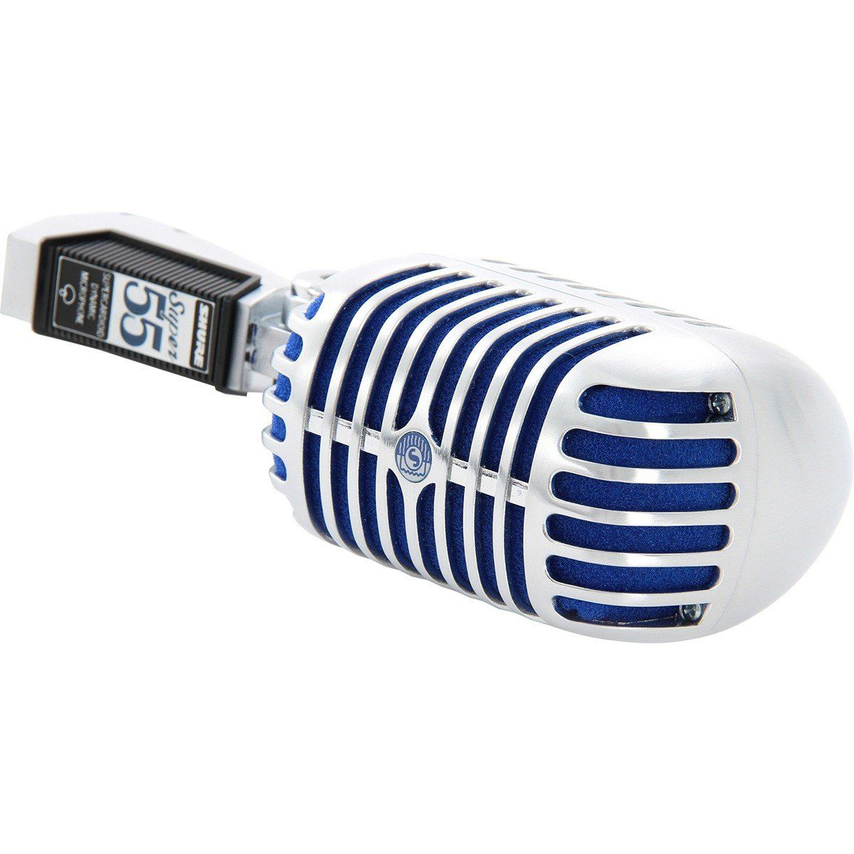 Shure Super-55 Microfone Dinâmico Supercardióide Shure Super 55 para Palco