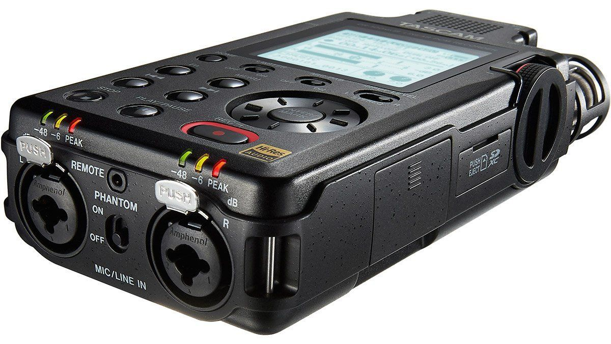 Tascam DR 100 MK3 Gravador DR 100 mkIII 128GB de armazemento