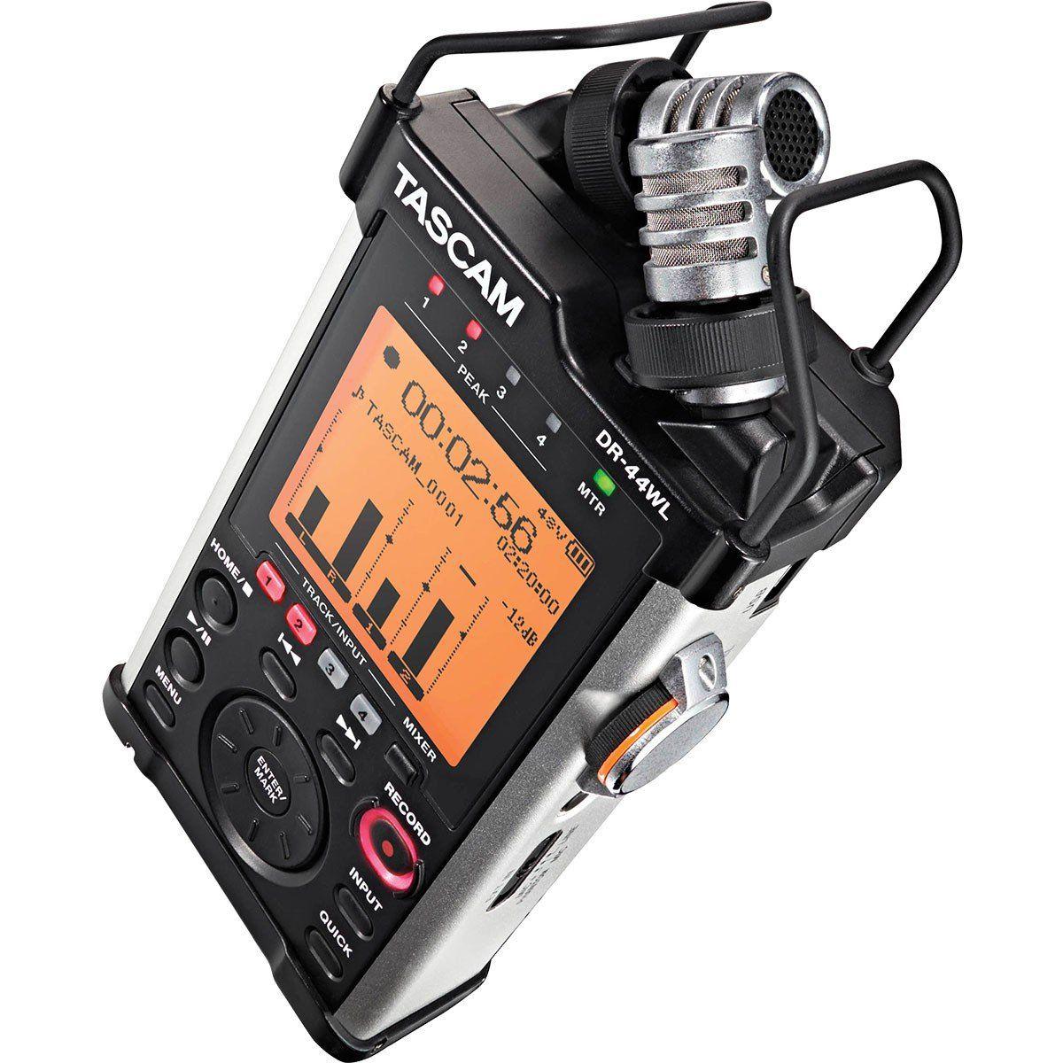 Tascam DR-44 WL Gravador Digital Tascam DR 44 WL Cardioide