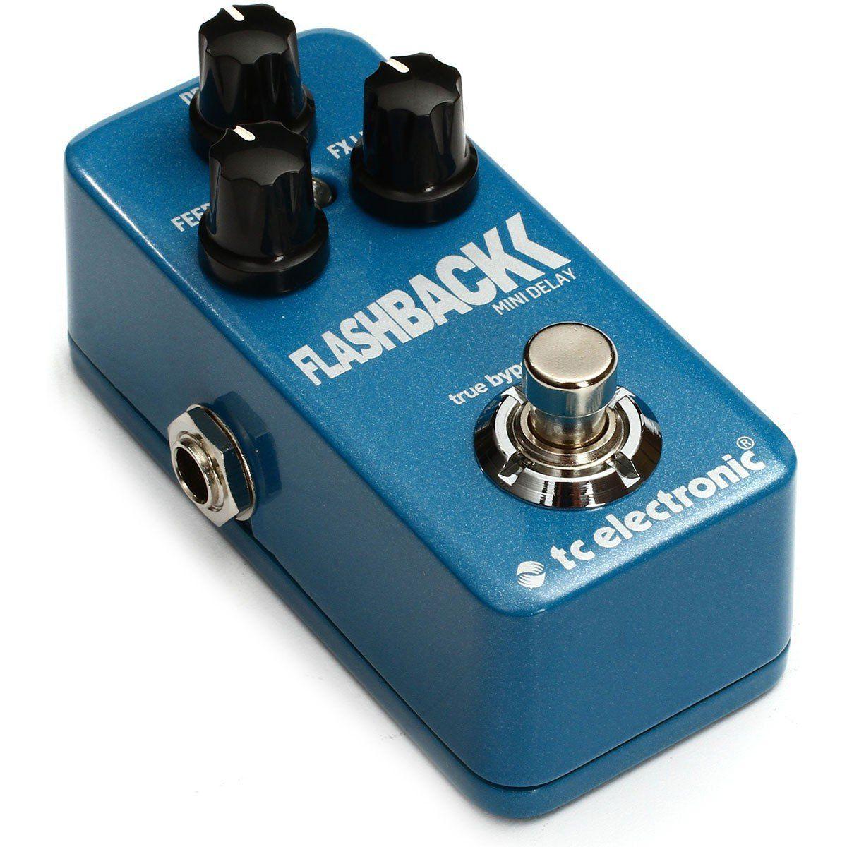 Tc Electronic FlashBack Mini Delay Pedal para Guitarra