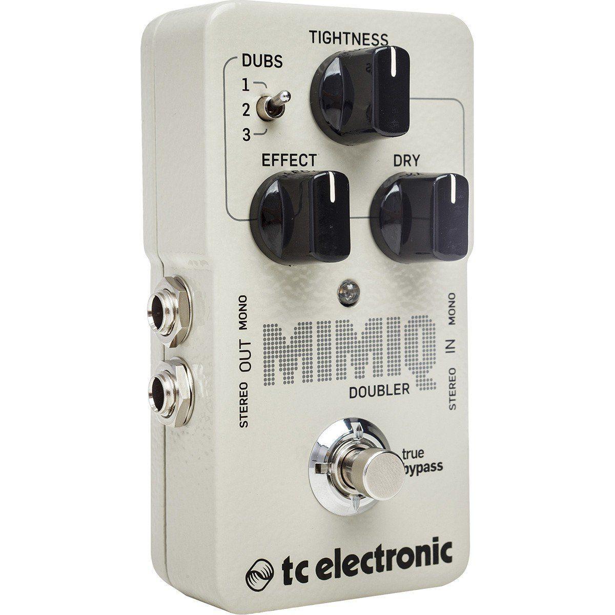 Tc Electronic Mimiq Doubler Pedal para Guitarra
