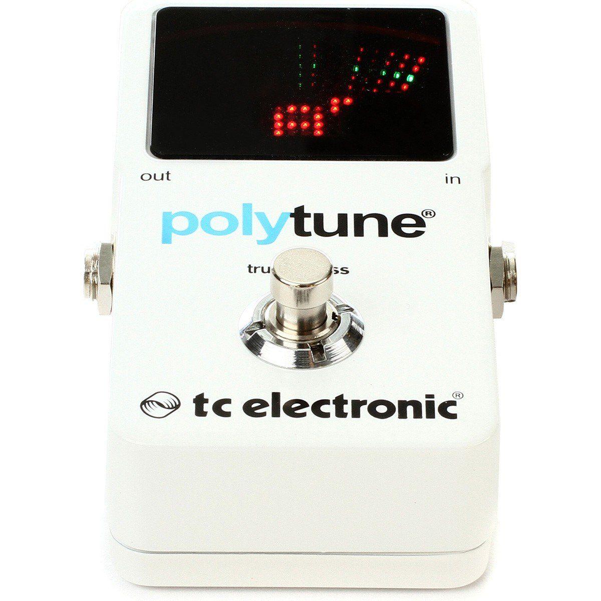Tc Electronic Polytune 2 Pedal para Guitarras