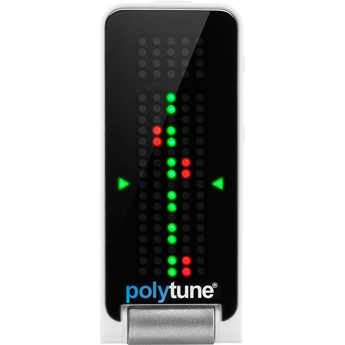 TC Electronic Polytune Afinador Clip para Violão e Guitarra