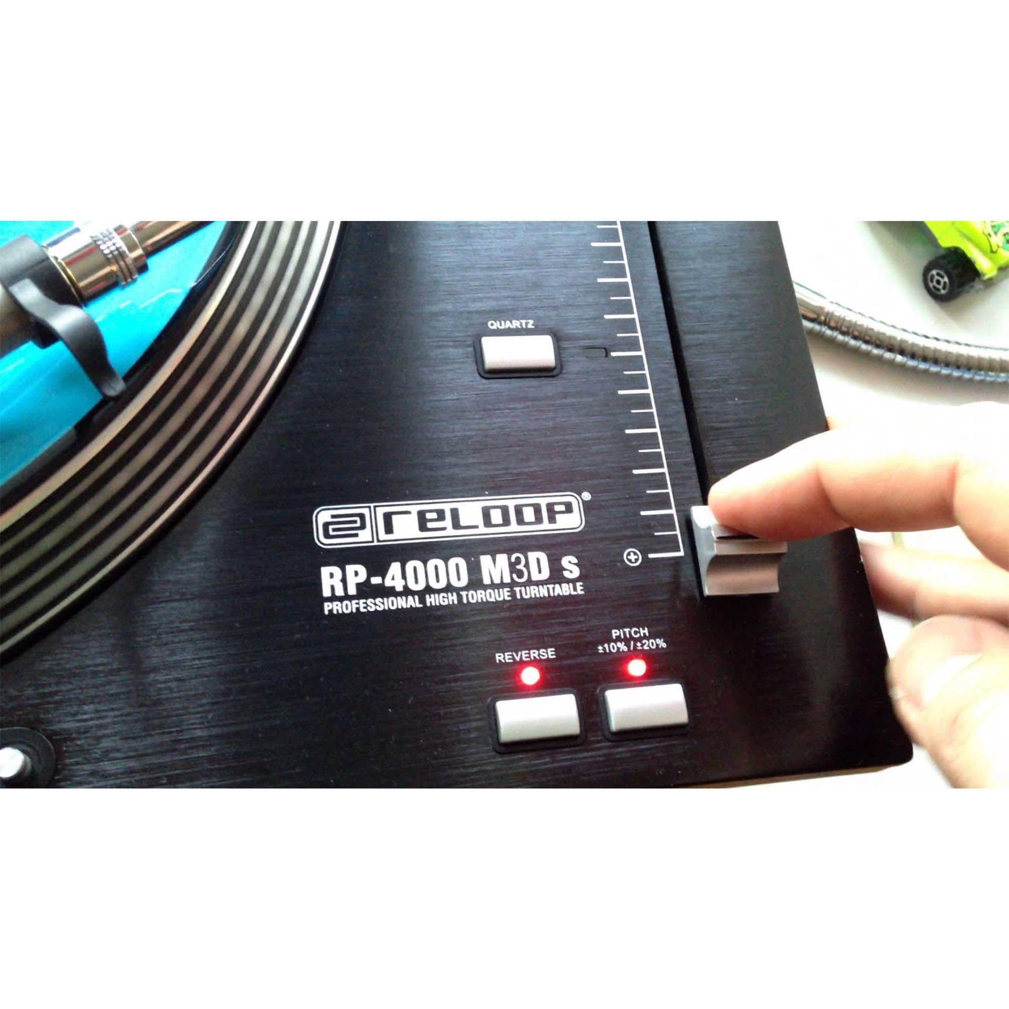 Reloop RP4000M Toca-disco Dj Reloop-RP4000M Direct Drive