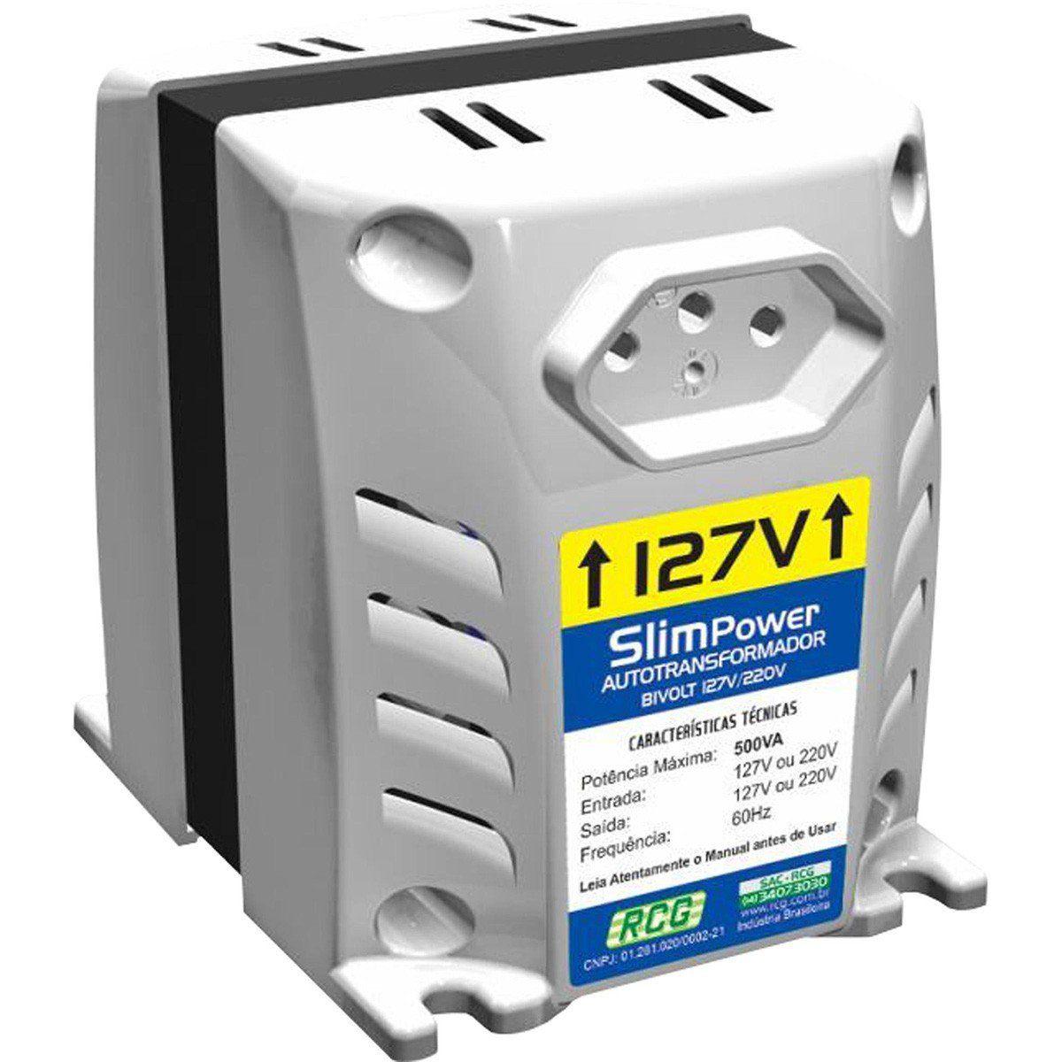 Rcg Slim Power Transformador para Conversão de Voltagem
