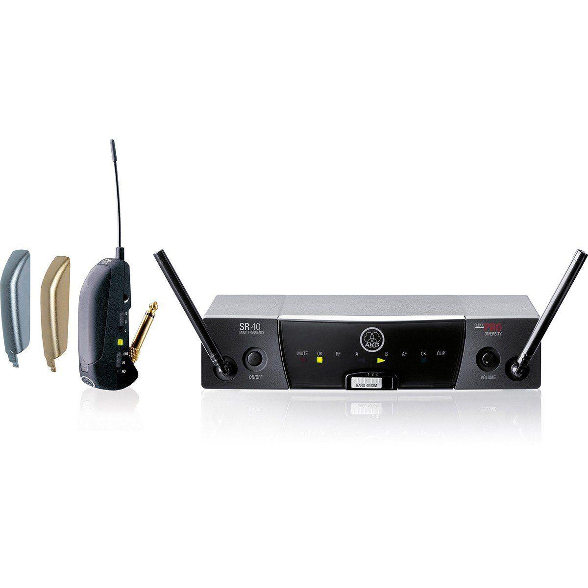 Akg WMS40 Flexx Pro Transmissor Akg WMS40 Flexx-Pro para Instrumentos