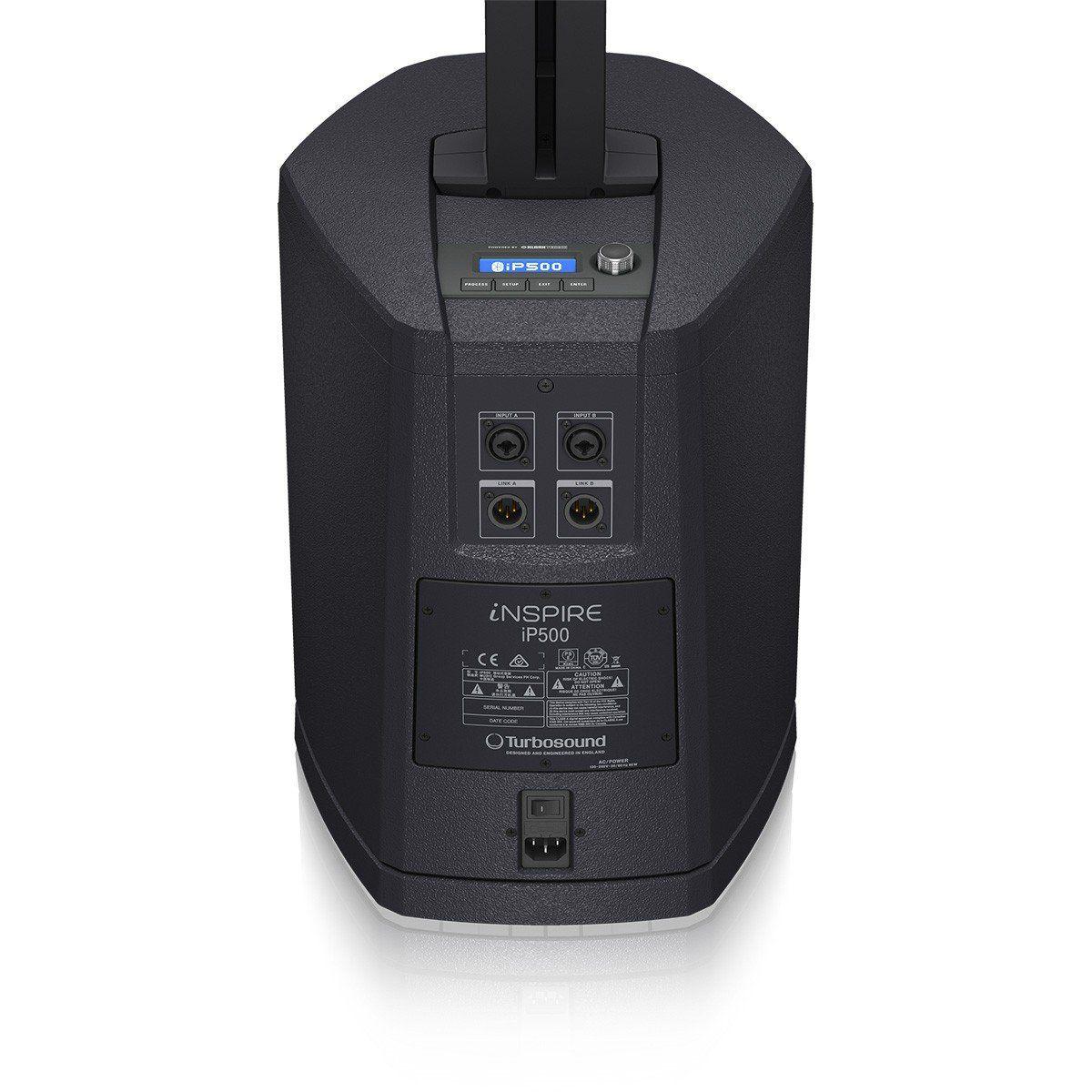 TurboSound iNSPIRE iP500 Caixa de Som iP-500 Ativa 600W Sistema de PA para Clubes